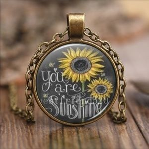 Jewelry - JUST IN Vintage Style You Are My Sunshine